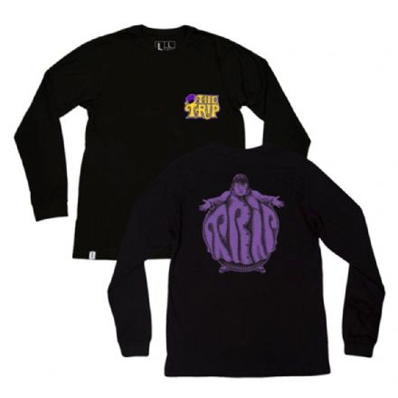 The Trip JJ Wonka L/S T-Shirt - Black Medium